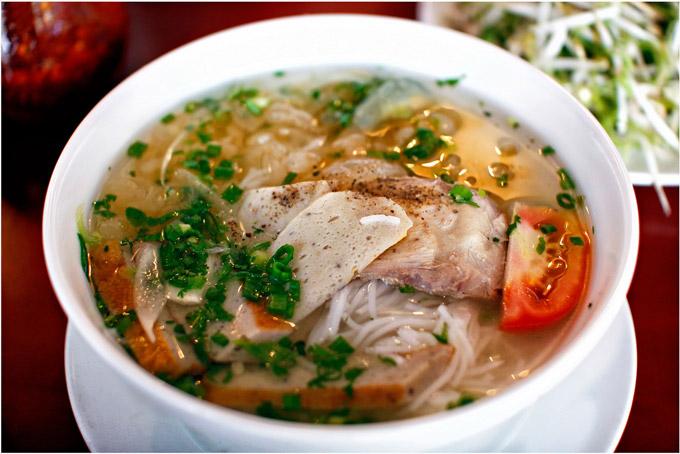 bún chả cá Trang