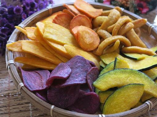 Hoa quả sấy khô Đà Lạt