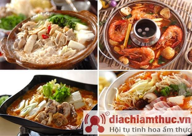 Món lẩu Thái ở Đà Lạt