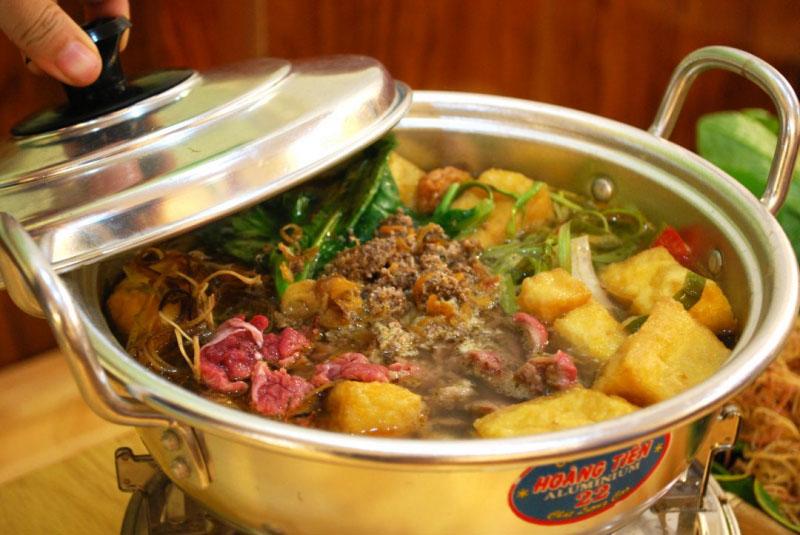 Nhà hàng lẩu cua đồng Đà Lạt