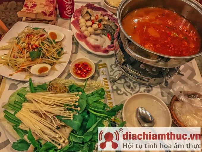 Quán ăn Thái Khap Bun Kha