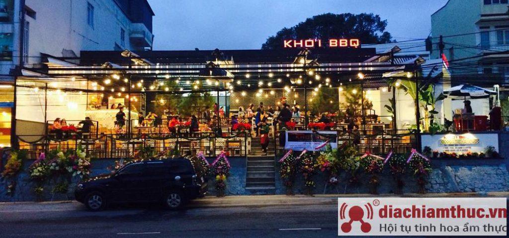 Quán nhậu Khói BBQ