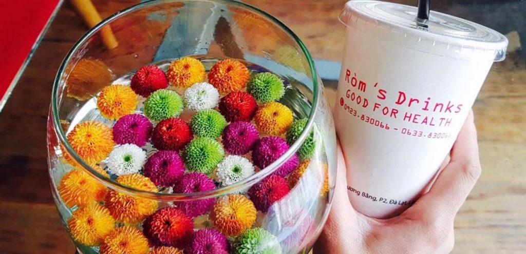 Quán trà sữa ở Đà Lạt