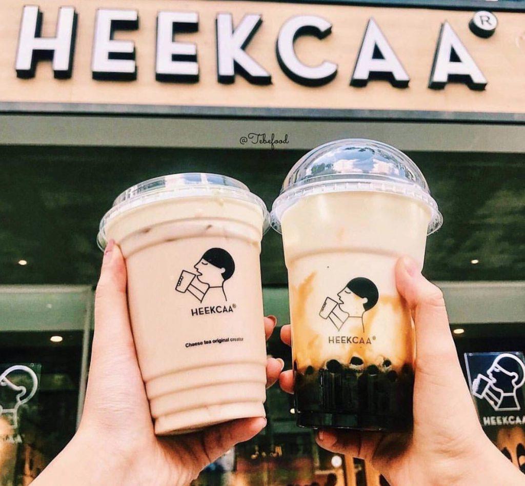 Trà sữa Heekcaa