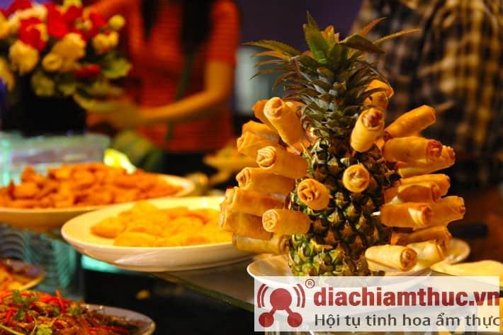 Nhà hàng Claris Palace buffet chay