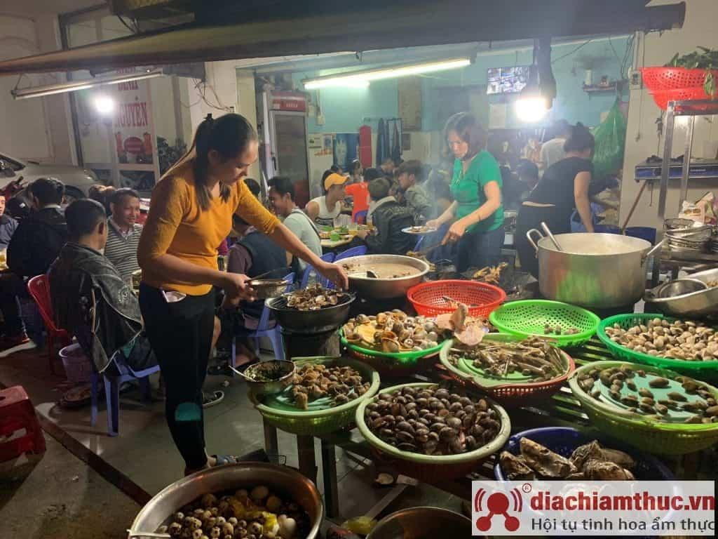 Ốc chợ Đêm Đà Lạt