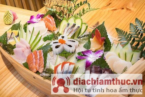 Món Nhật ngon ở Fujiya Sushi Đà Lạt