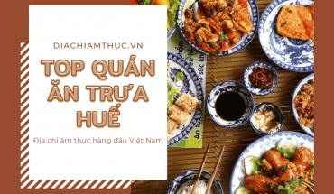 Ăn trưa Huế