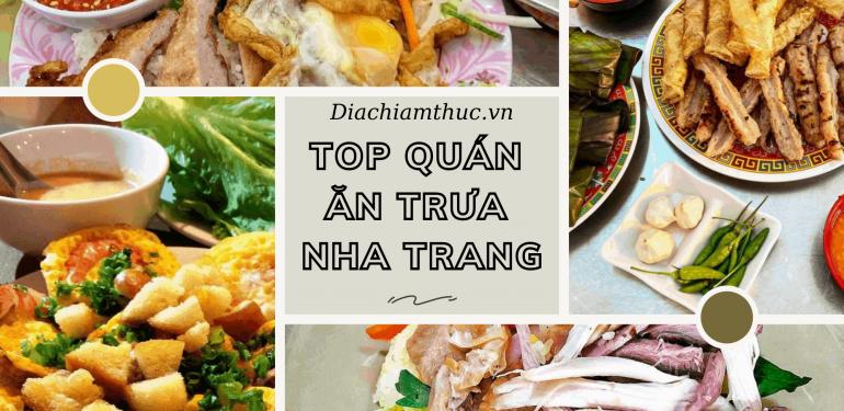 Ăn trưa Nha Trang