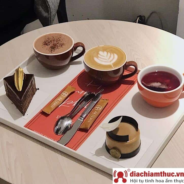 Artemis – Pastry & Coffee Shop quận Hoàn Kiếm