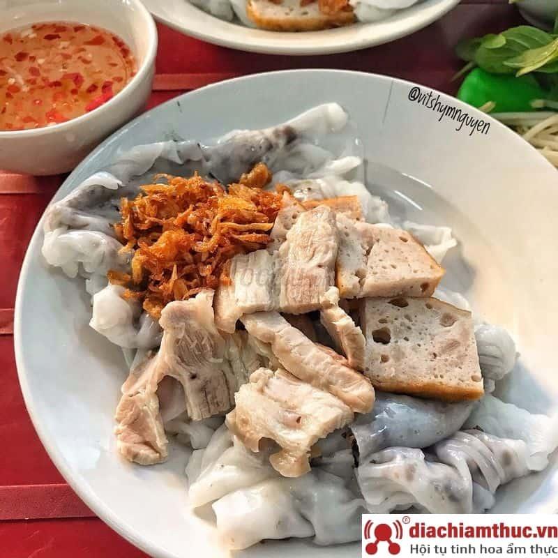 Bánh cuốn nóng chị Hà TP Huế