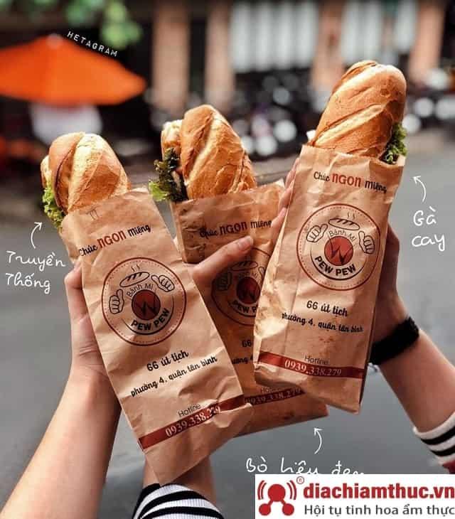 Bánh mì PewPew D5 Bình Thạnh