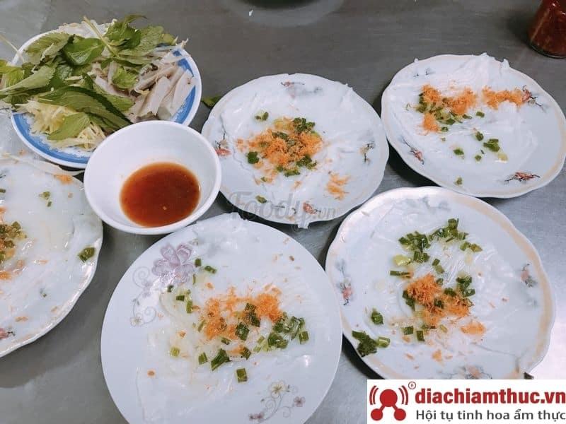 Bánh ướt dĩa Nha Trang
