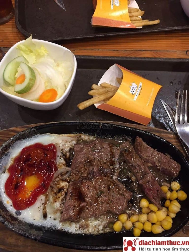 Beefsteak Hai Con Bò Quận 1 HCM
