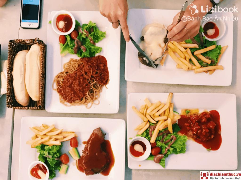 Beefsteak Titi – món Âu giá Việt