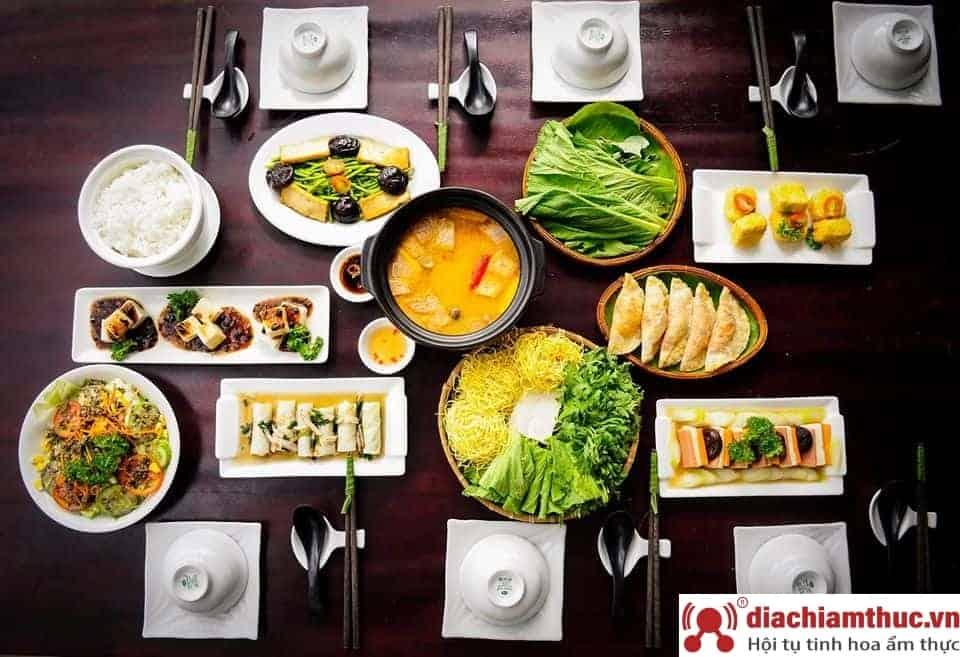 Bếp xanh An Duyên – Nhà hàng chay