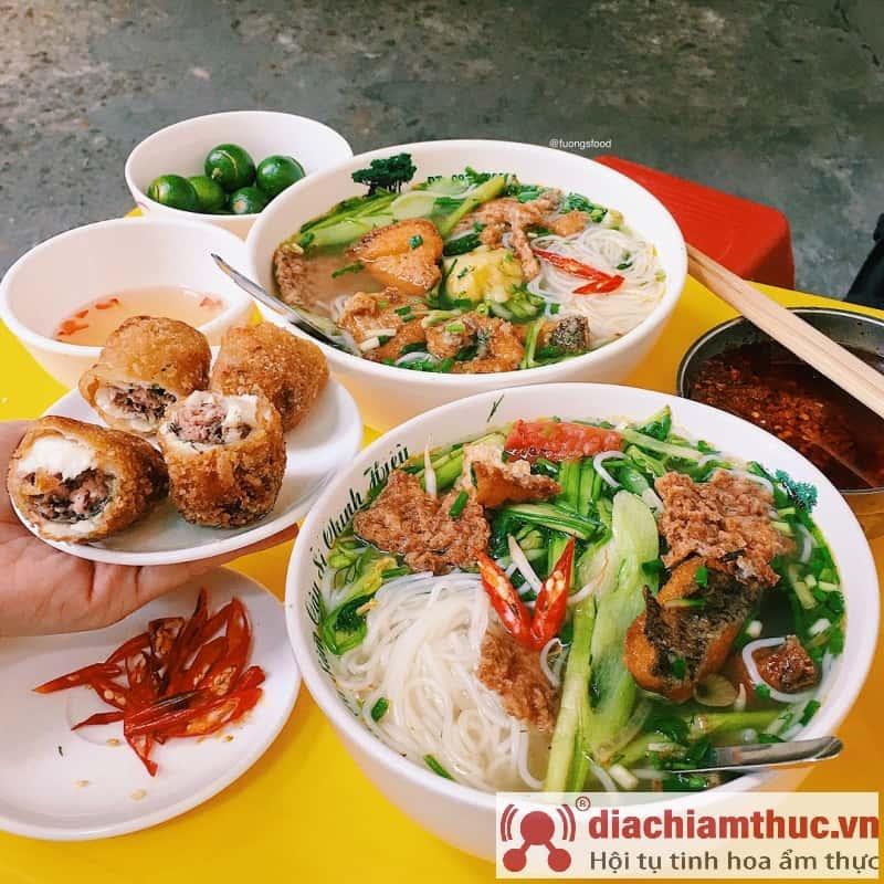 Bún Cá Ngõ Trung Yên Hà Nội