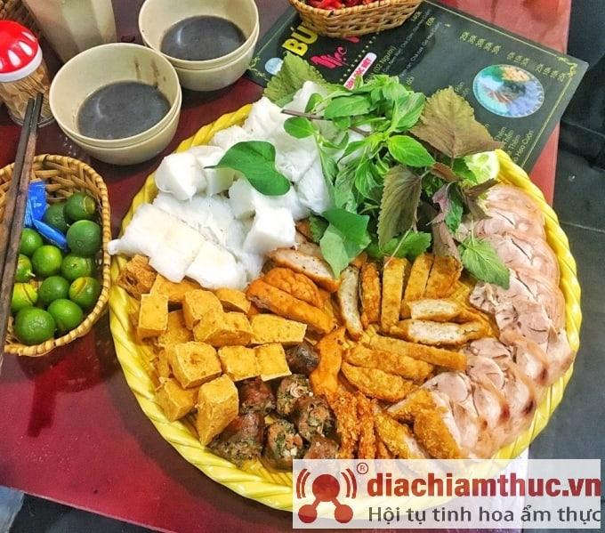 Bún đậu Mạc Văn Khoa Sài Gòn