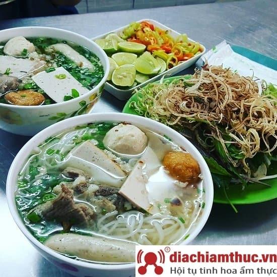 Bún mọc Thanh Mai Sài Gòn
