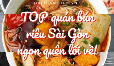 Bún riêu Sài Gòn