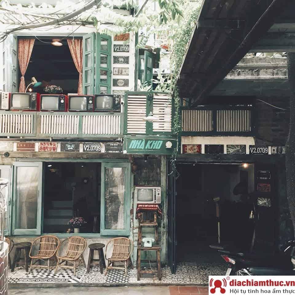 Cafe Nhà Kho quận Đống Đa Hà Nội