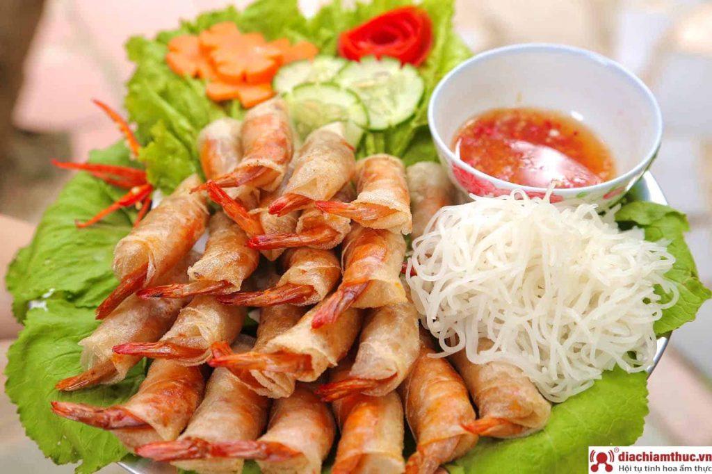 Chả ram tôm đất Quy Nhơn Bình Định