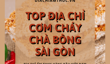 Cơm cháy chà bông Sài Gòn