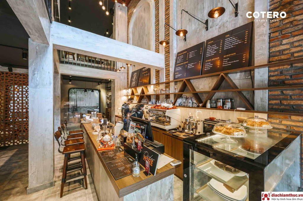 Cotero Coffee quận Tây Hồ Hà Nội