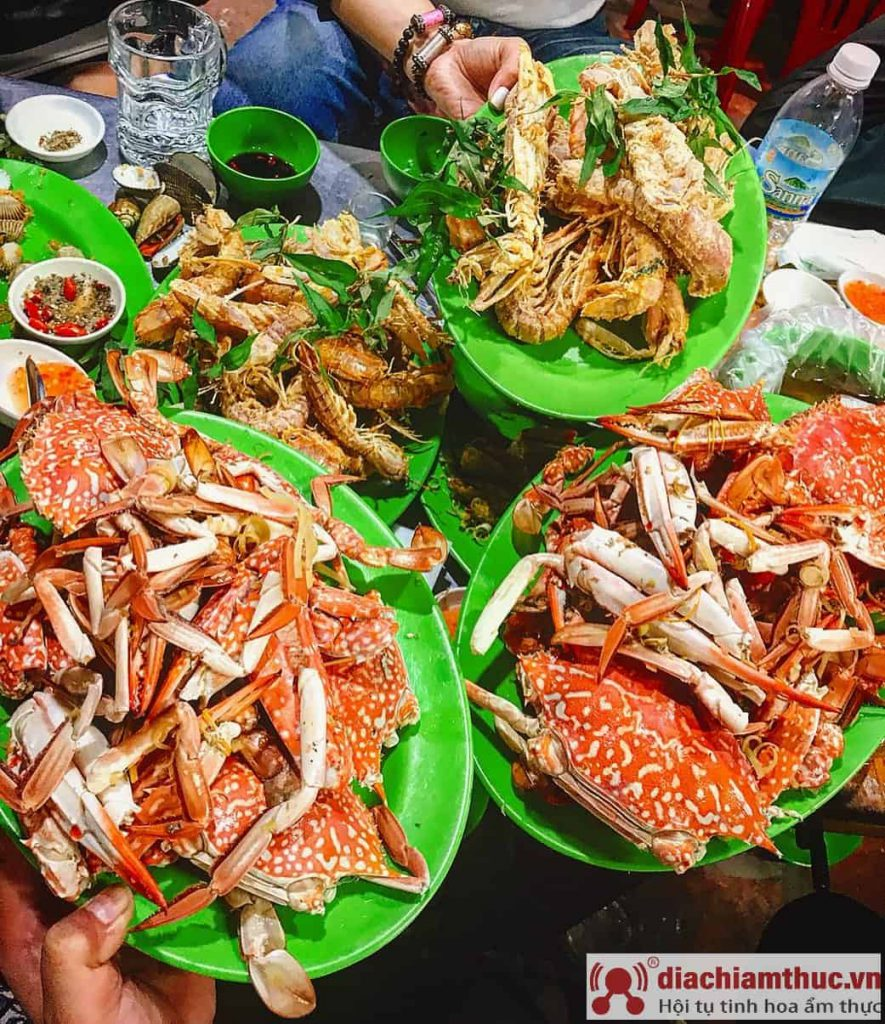 Hải sản làng chài Nha Trang