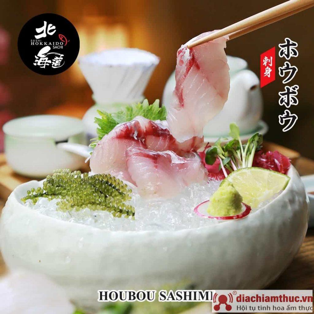 Houbou sashimi