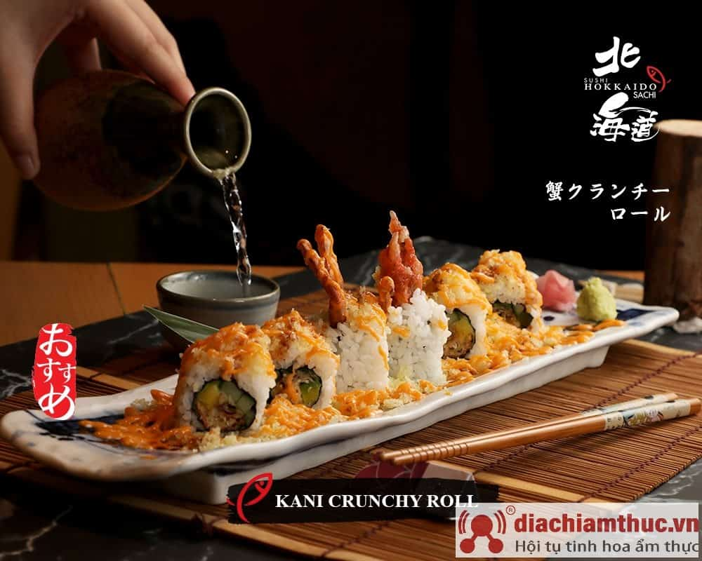 Kani Crunchy roll