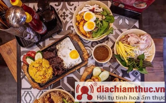 Mộc vị quán Sài Gòn