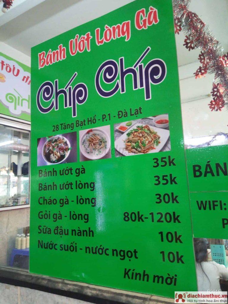 Quán Chip Chip Đà Lạt
