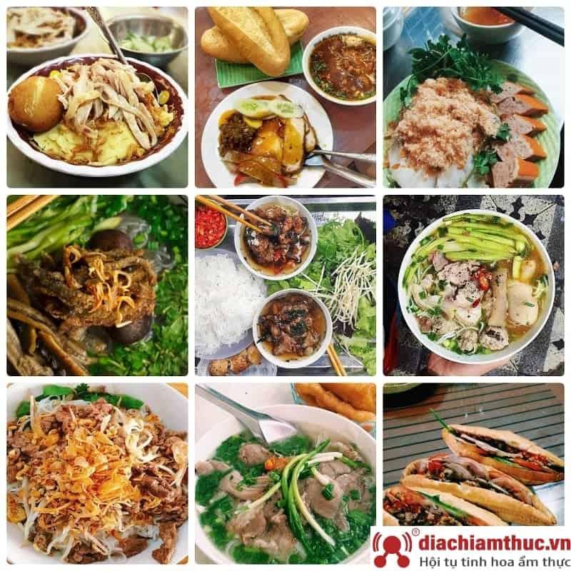 Quán ăn sáng Hà Nội