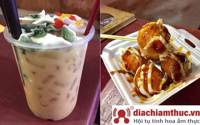 Quán ăn vặt Sơ-ri Nha Trang