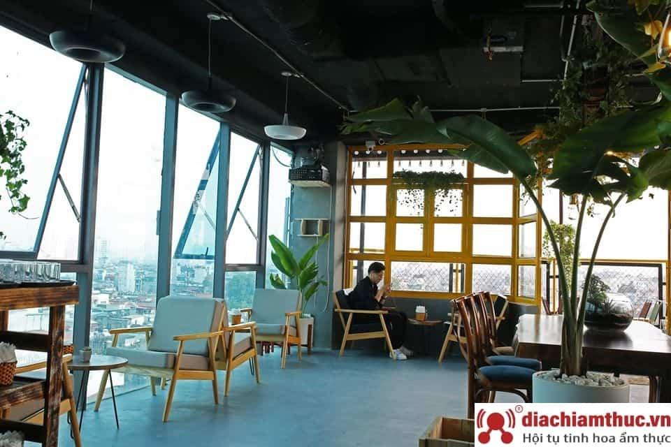 Sam Rooftop Coffee Hà Nội