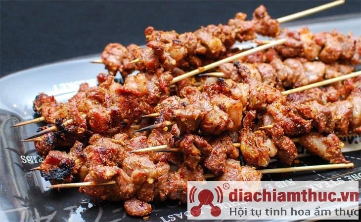 Thịt Xiên Nướng Quang Trung Hà Nội