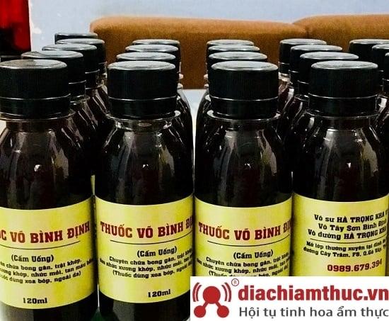 Thuốc võ Quy Nhơn Bình Định