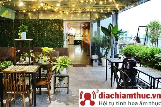 Trill Rooftop Cafe – Hei Tower Hà Nội