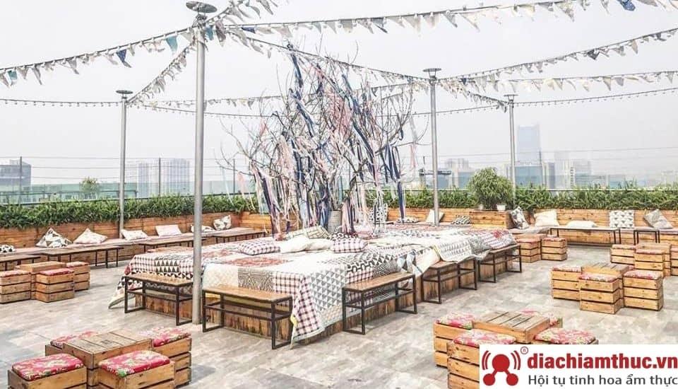 Trill Rooftop Cafe quận Thanh Xuân Hà Nội