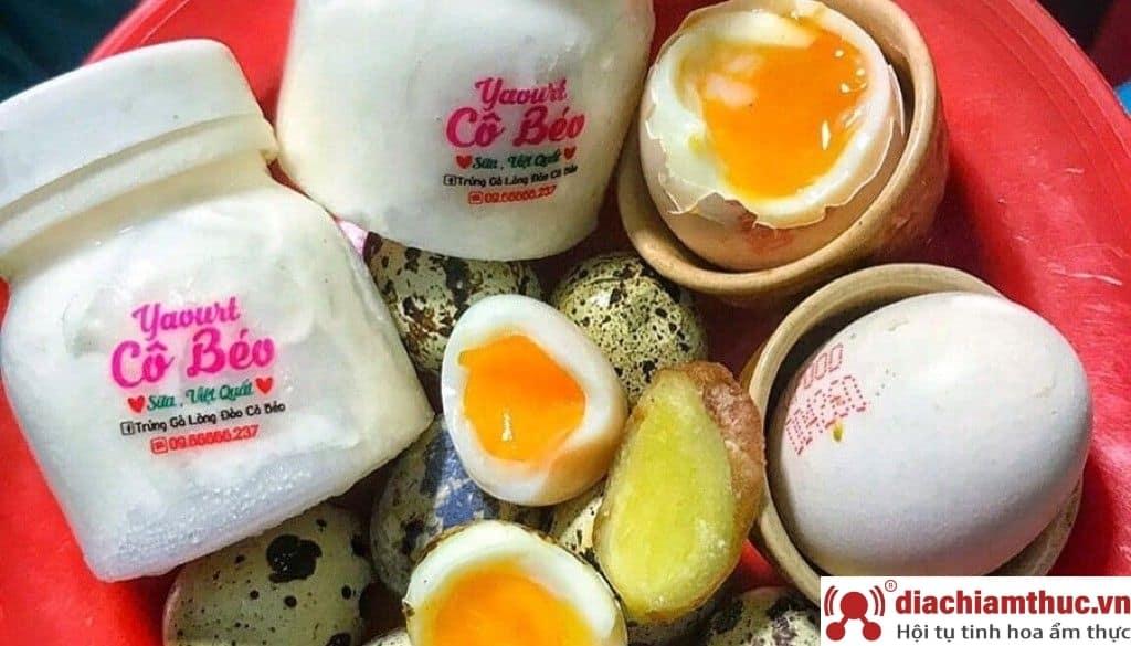 Trứng gà lòng đào Cô béo quận Bình Thạnh