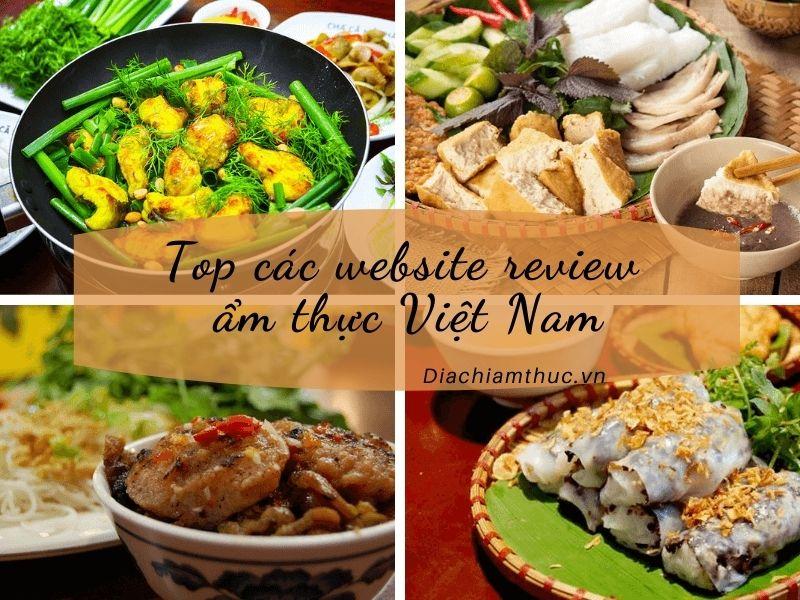 Website ẩm thực Việt Nam