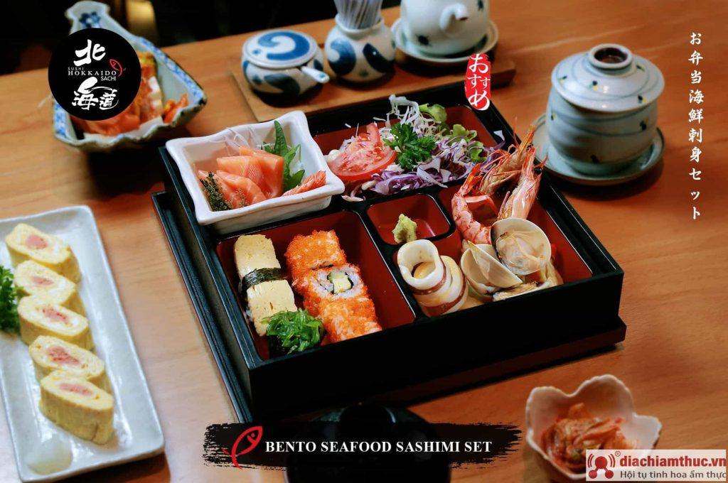 bento seafood sashimi set