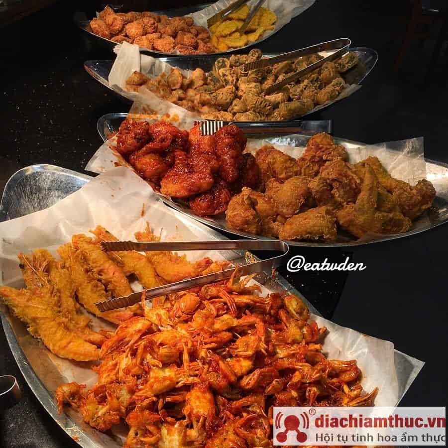 Các loại thức ăn ở Dookki