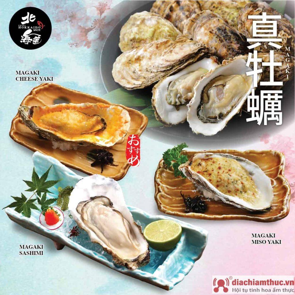 cá món hầu ở sushi hokkaido