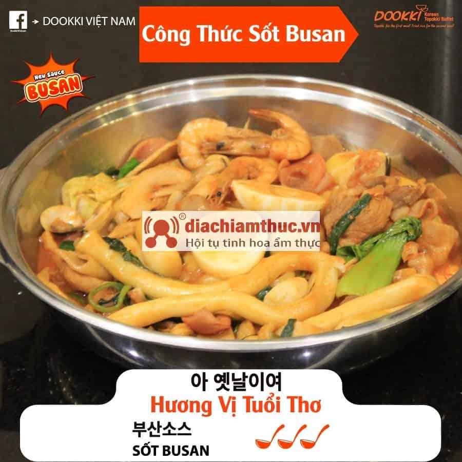 Công thức Sốt Busan Dookki
