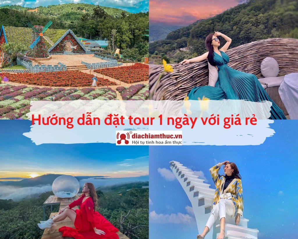 Hướng dẫn đặt tour du lịch Đà Lạt 1 ngày