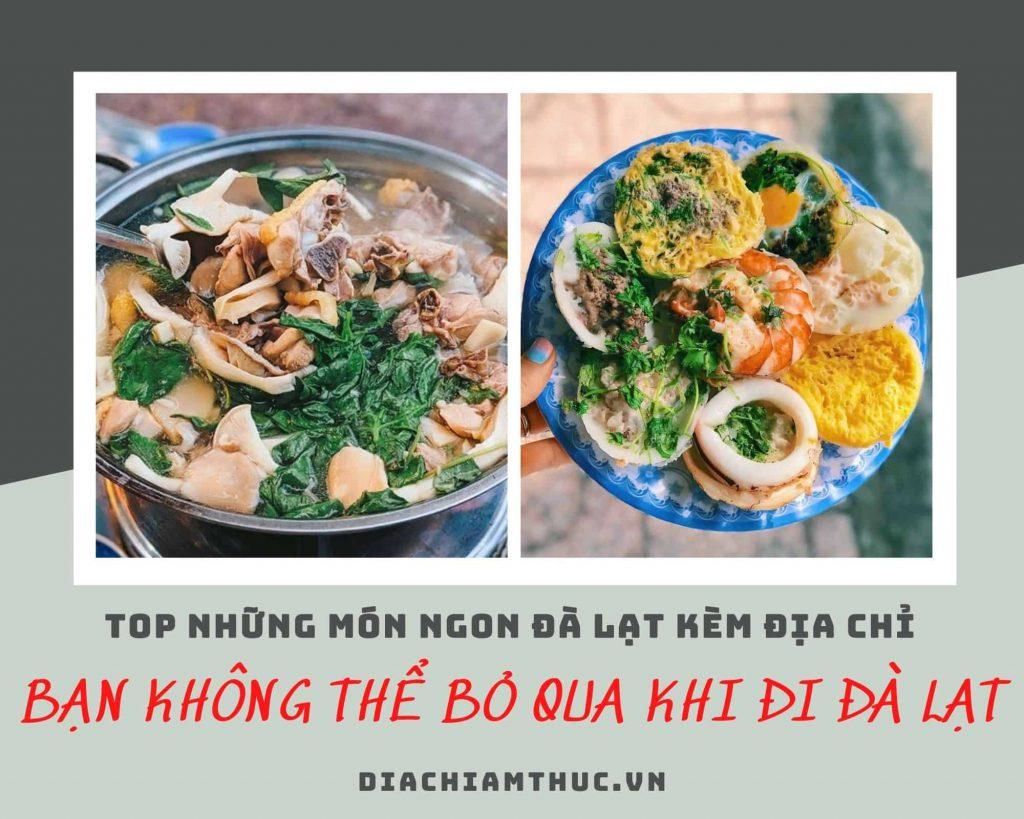 Kinh nghiệm ăn uống ở Đà Lạt