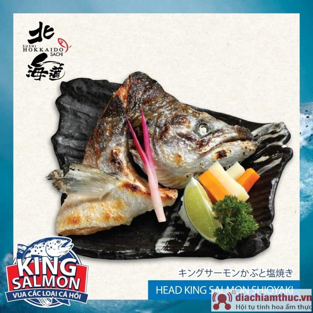Món cá Hồi ở hokkaido