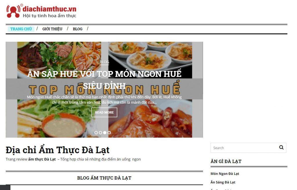website Diachiamthuc.vn